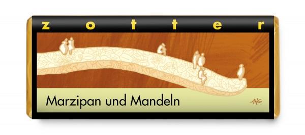 Marzipan und Mandeln