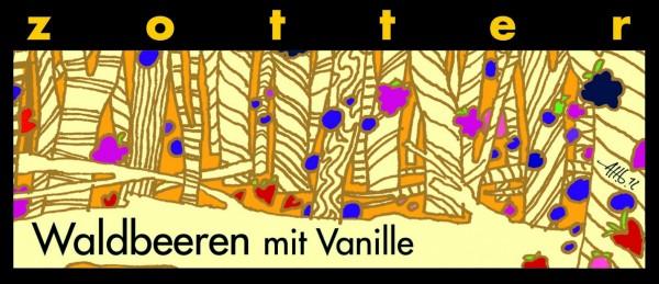 Waldbeeren mit Vanille