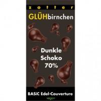 Glühbirnchen – Dunkle Schokolade 70%