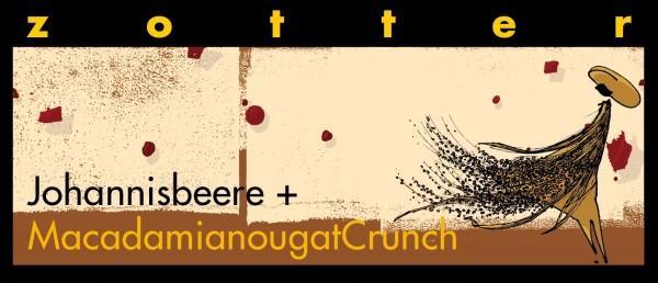 Johannisbeere + Macadamianougat Crunch