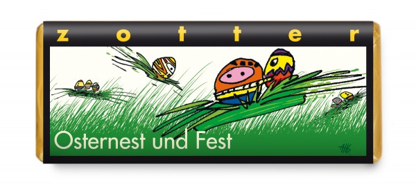 Osternest und Fest