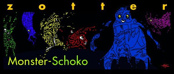 Monster-Schoko