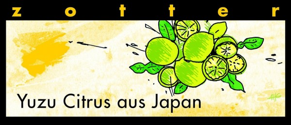Yuzu Citrus aus Japan