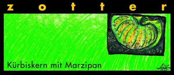 Kürbiskern mit Marzipan
