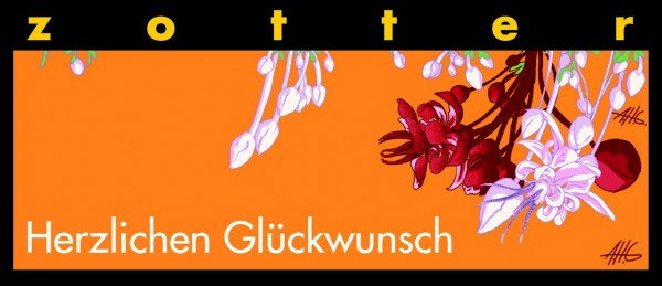 Herzlichen Glückwunsch - Tausend Blätternougat