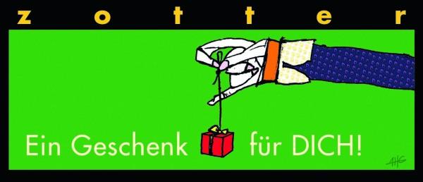 Ein Geschenk für DICH! - Marc de Champagne + Himbeeren