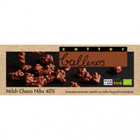 Milch Choco Nibs 40 %