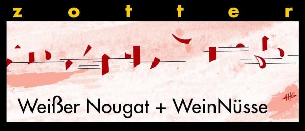 Weißer Nougat + WeinNüsse