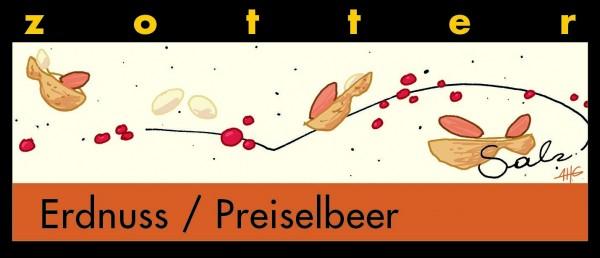 Erdnuss / Preiselbeer