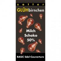 Glühbirnchen – Milchschoko 50%