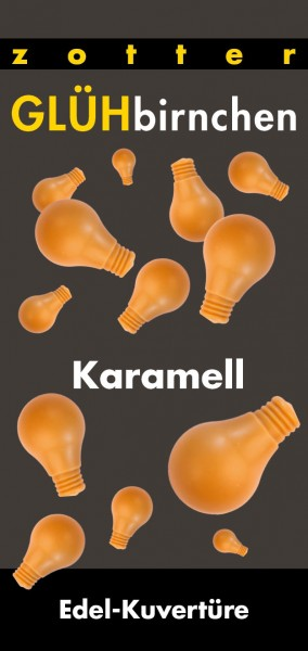 Glühbirnchen - Karamell