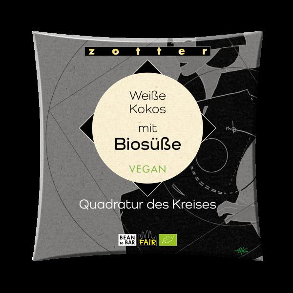 Weiße Kokos mit Biosüße