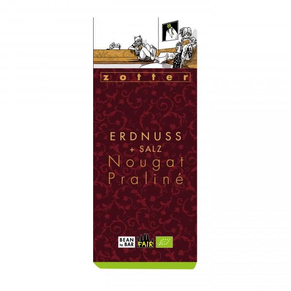 Erdnuss + Salz Nougat Praliné