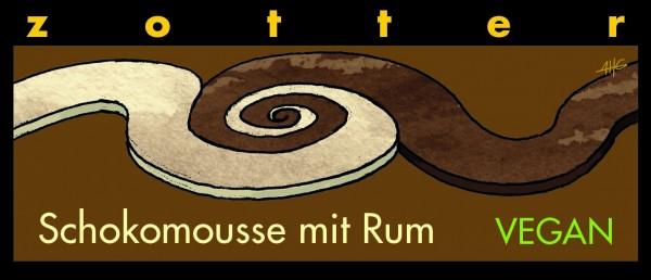 Schokomousse mit Rum