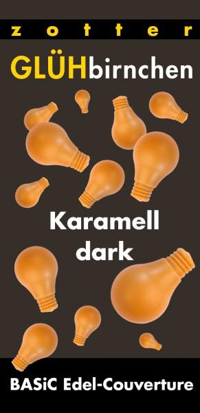 Glühbirnchen - Karamell dark