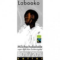 80%/20% Milchschokolade superdunkel