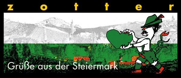 Grüße aus der Steiermark - Schilcher + Kürbisnougat
