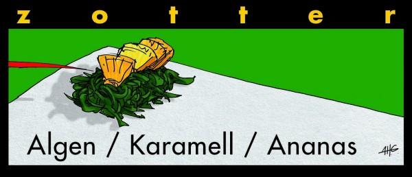 Algen / Karamell / Ananas