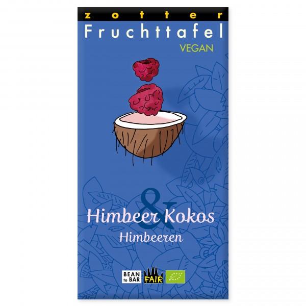 Himbeer Kokos & Himbeeren