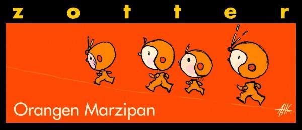 Orangen Marzipan